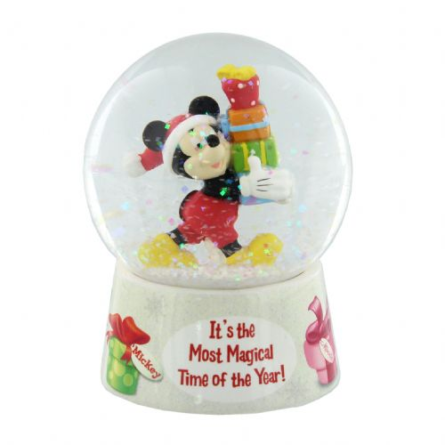 Disney Snow Globe Christmas Gift - Mickey Mouse